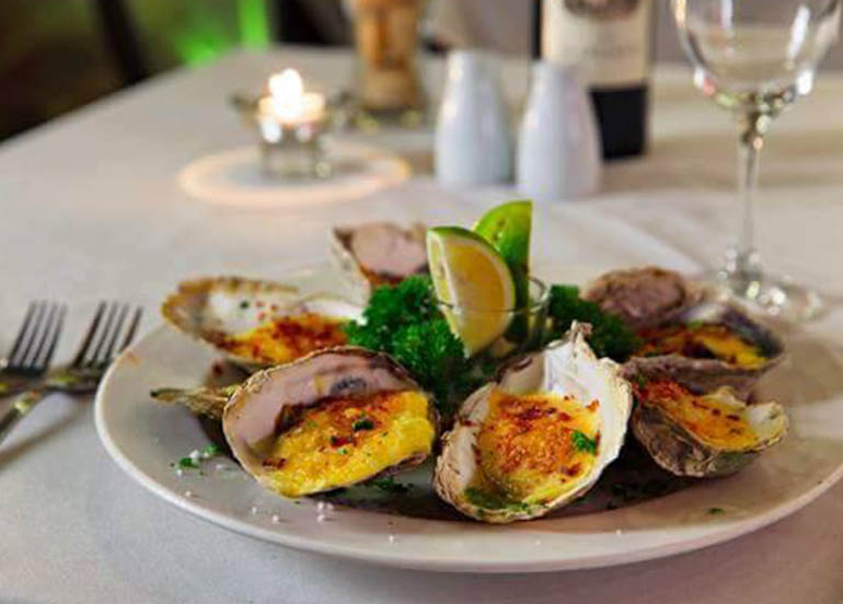 Rockefeller Oysters from Melo's