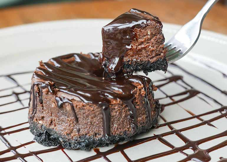 Double Chocolate Cheesecake from Designer Blooms Cafe