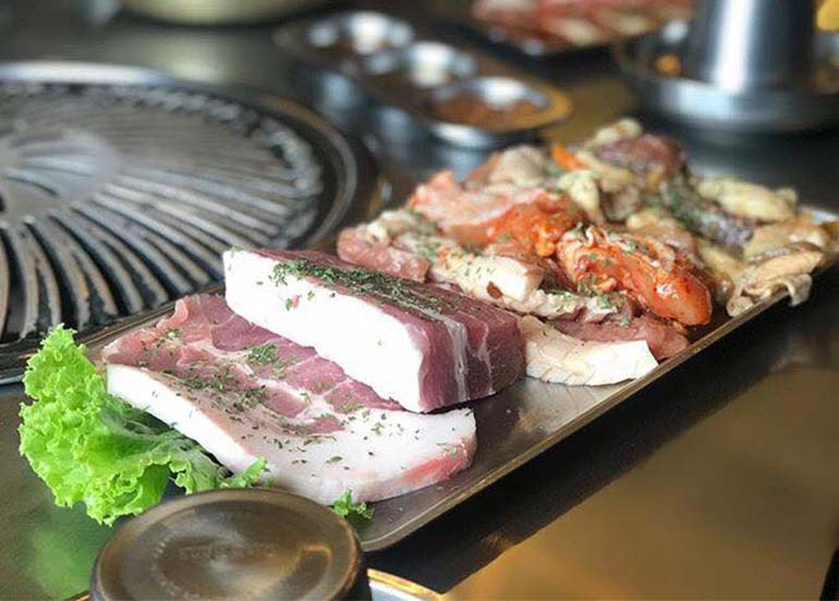 Meat to Grill from Premier the Samgyupsal