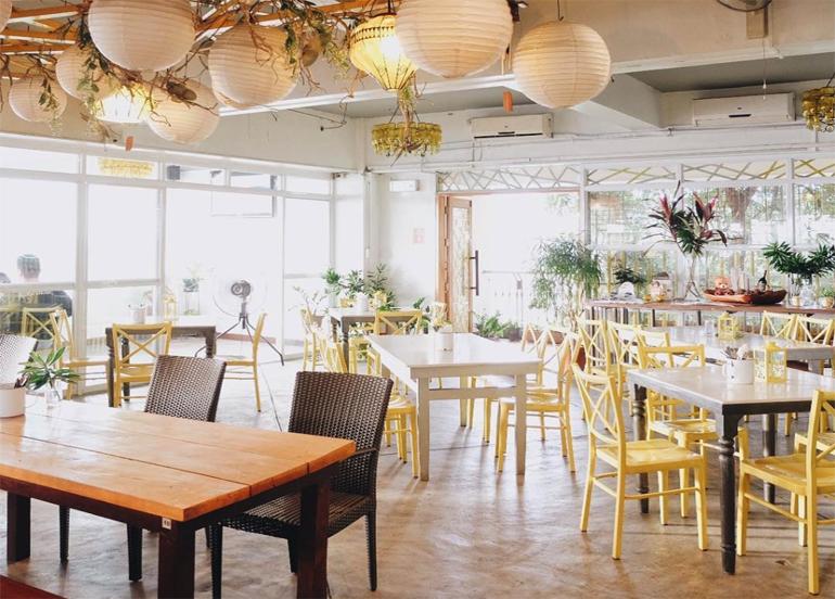 Yellow Lantern Cafe Interior