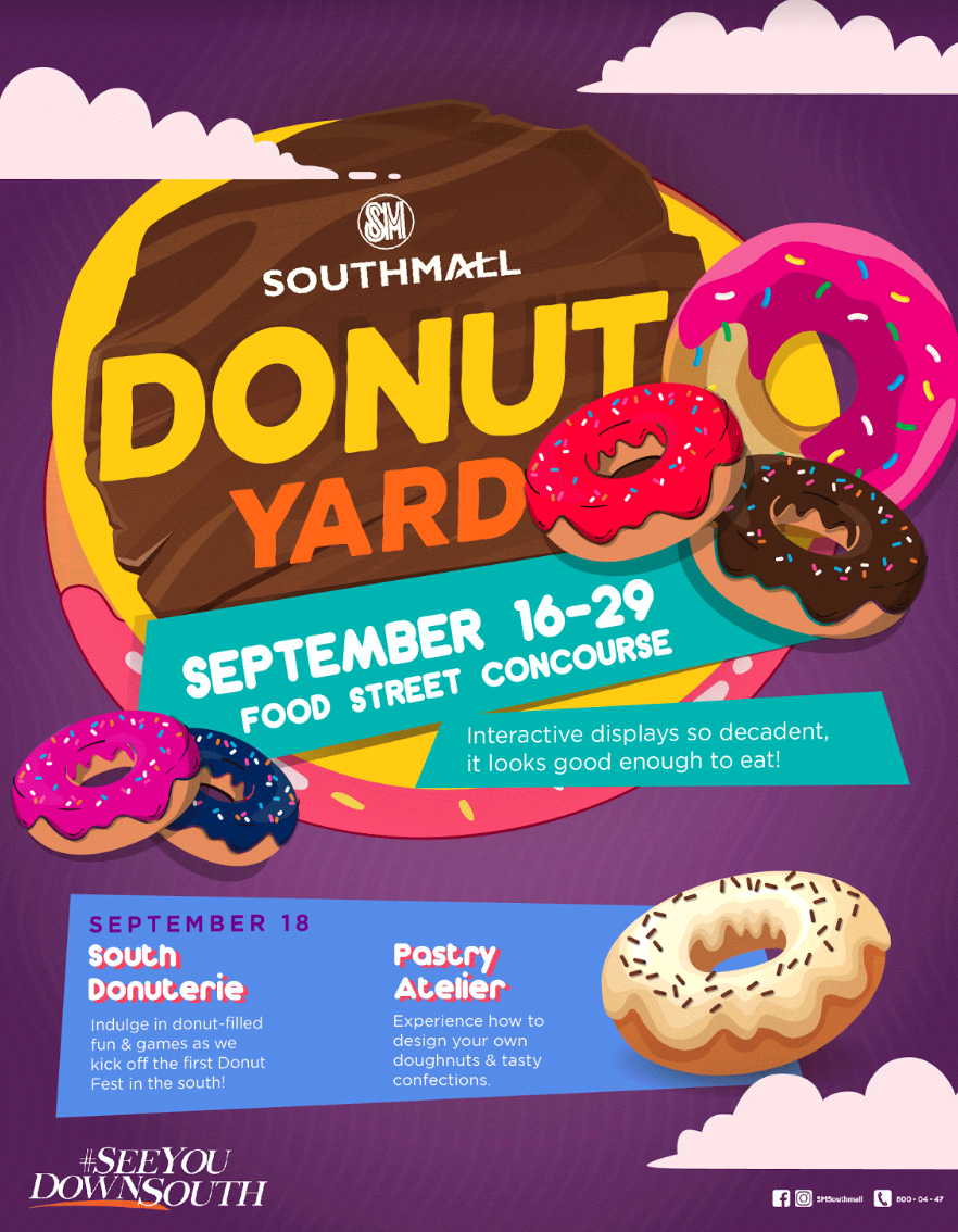 Donut Yard Poster