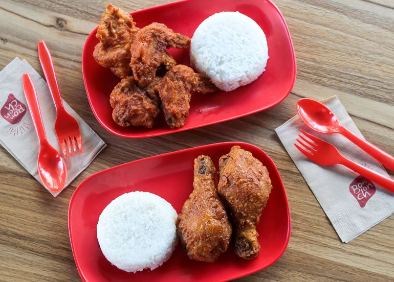 Don't miss out! BonChon is offering a K-Classic Buffalo Wing + Crunchy Garlic Drum combo for only ₱299