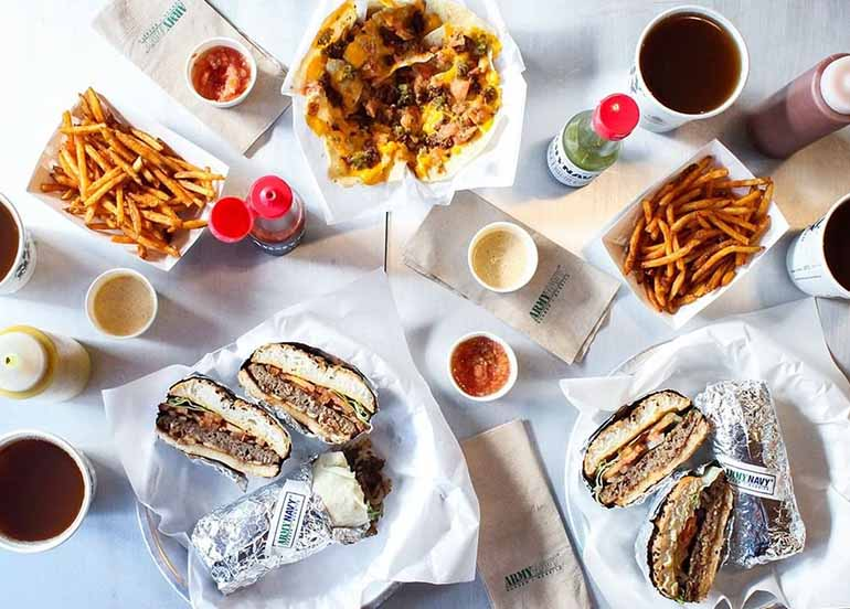 A First-Timer's Guide to the Army Navy Menu