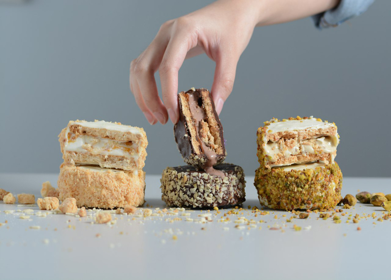 Here's The Inside Scoop on Cara Mia's New Gelato Sandwiches!
