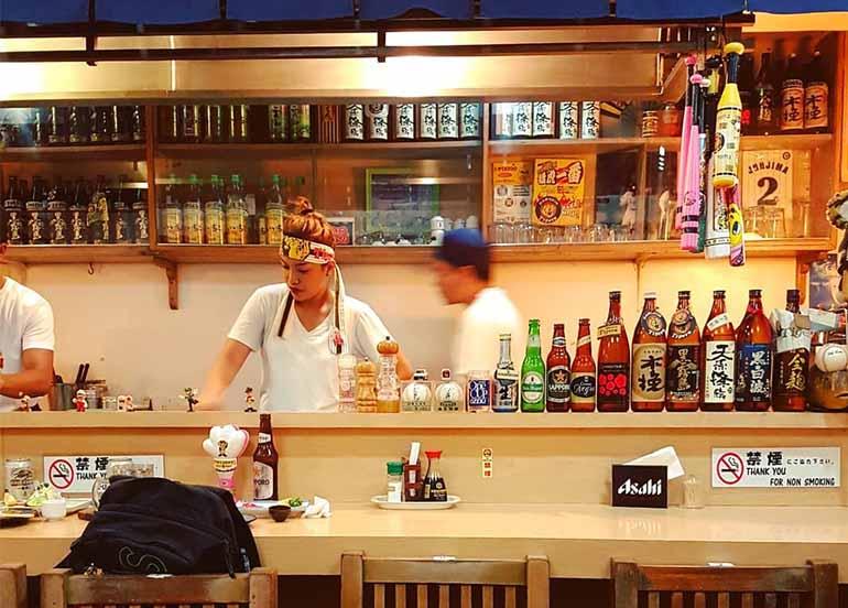 Interiors of Kagura Little Tokyo Makati