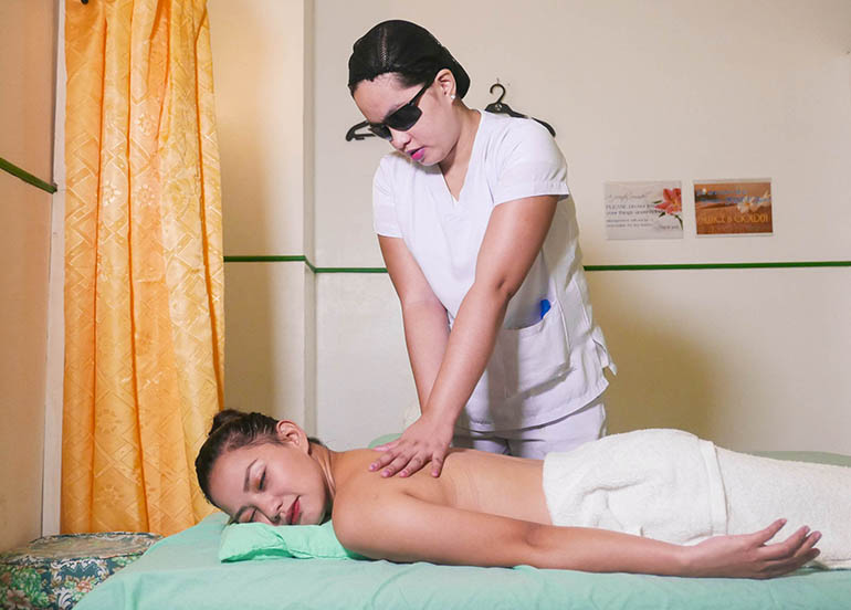 Take a Quick Breather at this Inclusive Massage Center