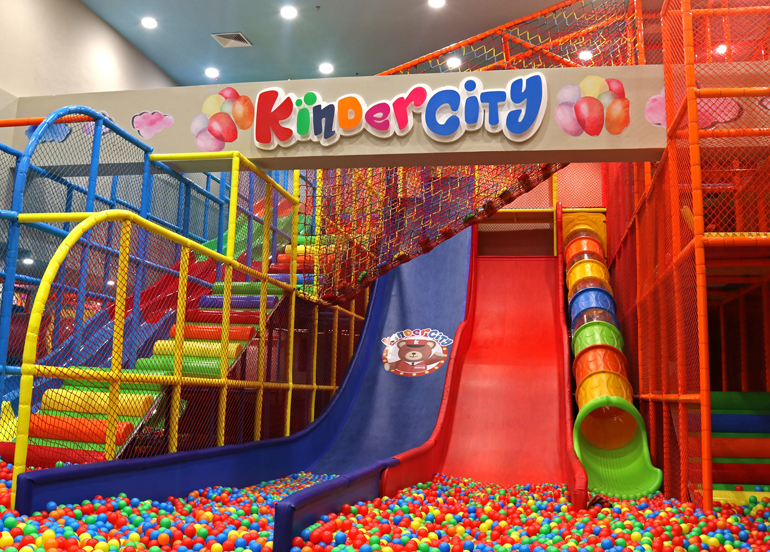 Your Kids Will Make Great Childhood Memories at This Indoor Playground
