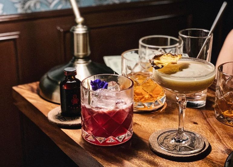 Mix Your Own Drinks At This Speakeasy Bar