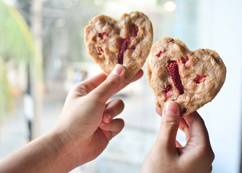 Nothing Says 'I Love You' More Than These Heart-Shaped Cookies With Baguio Strawberries