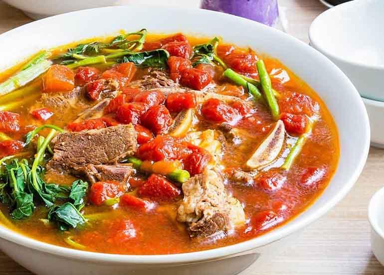 Sinigang na Beef Short Rib & Watermelon from Manam Comfort Filipino
