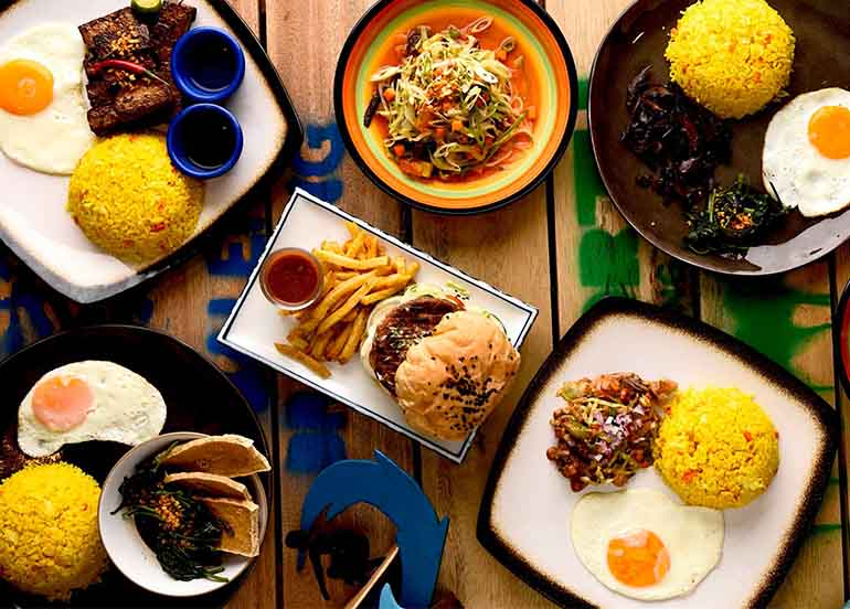 17 Must-Try Baler Restaurants that Satisfy your Post-Surf Cravings!