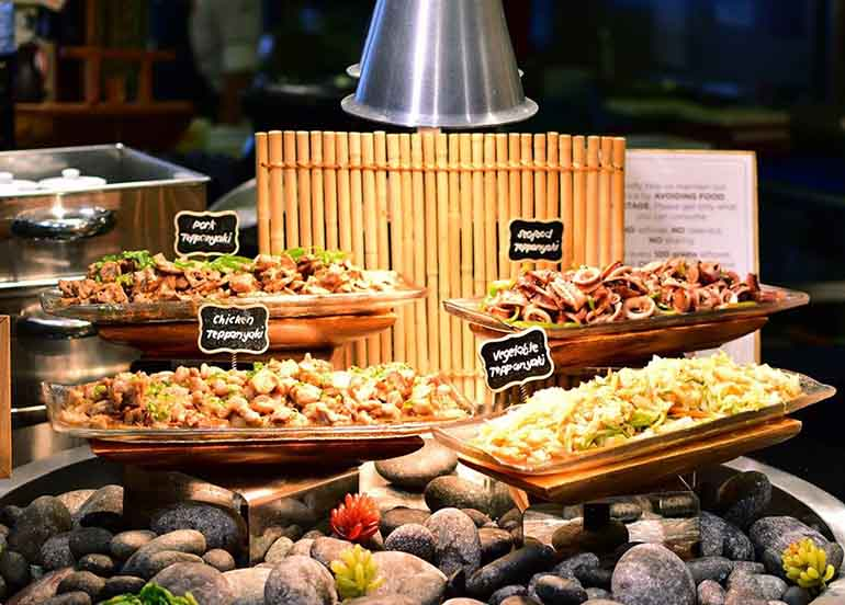 Food from Vikings Luxury Buffet from SM Mall of Asia