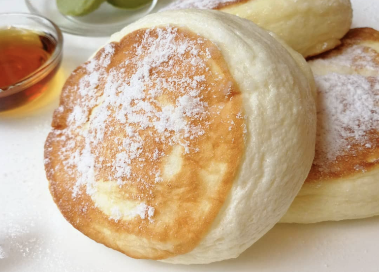 You Can Get These Japanese Soufflé Pancakes For 50% Off!