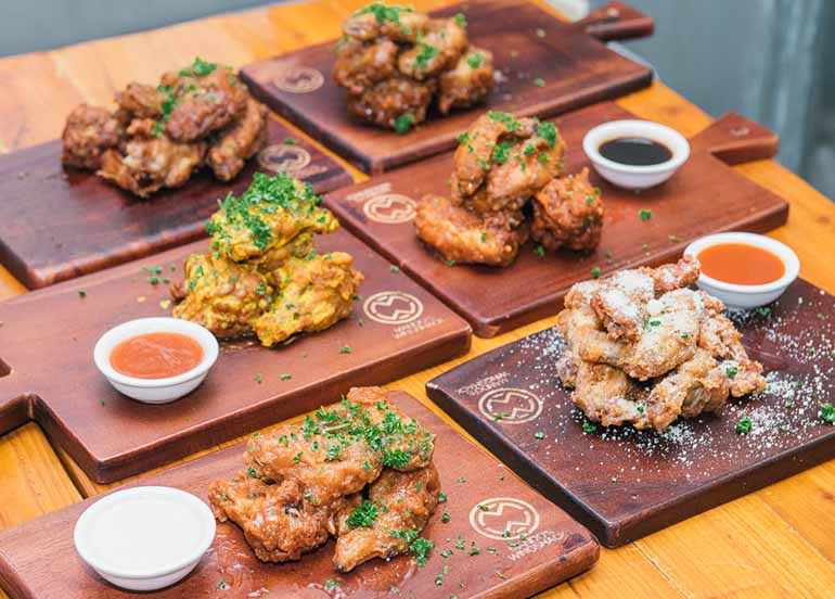 3 Wing Joints Where You Can Still Place Orders for Delivery