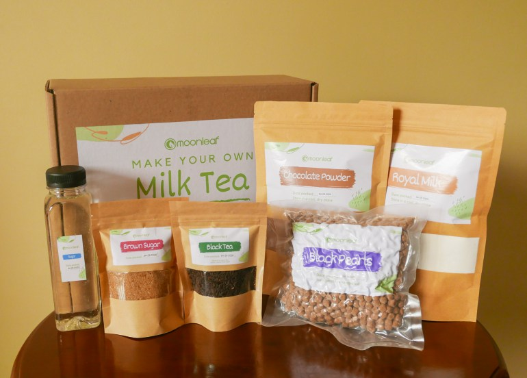 Make Your Own Milk Tea at Home With Moonleaf's Milk Tea Kits!