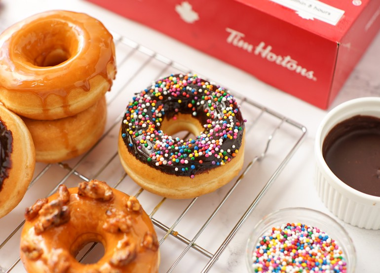 Tim Hortons' DIY Donut Kit is going to be your new bonding activity at home!