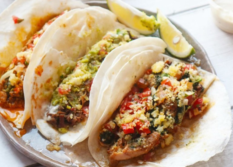 Have a Taco Party at Home with Tittos' Street Taco DIY Kit!