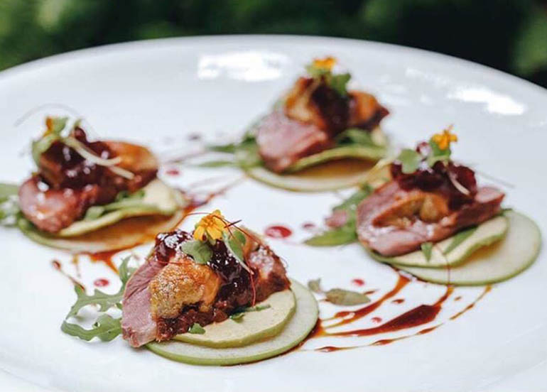 Smoked Duck Breast from Ninyo Fusion Cuisine & Wine Lounge