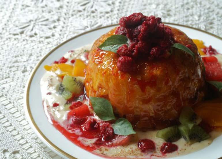 Dessert from Barbara's Heritage Restaurant