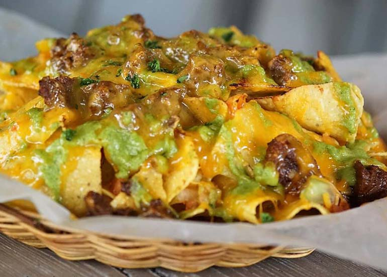 Beef Nachos from Silantro Fil-Mex Cantina