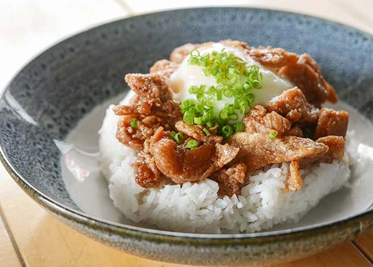 Rice Bowl from Shizuka Cafe