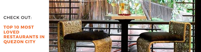 Top 10 Most Loved Restaurants in Quezon City Blog Banner