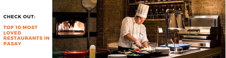 Top 10 Most Loved Restaurants in Pasay Blog Banner