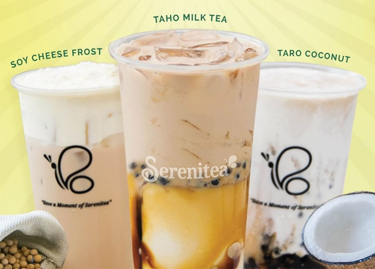 Serenitea's New Flavors Are Made For Taho and Taro Lovers