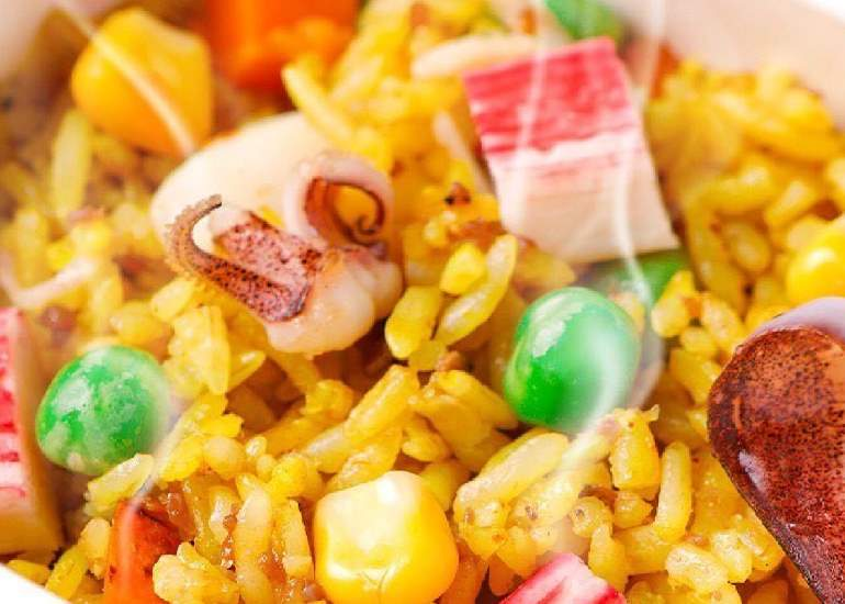 Seafood fried rice RBX