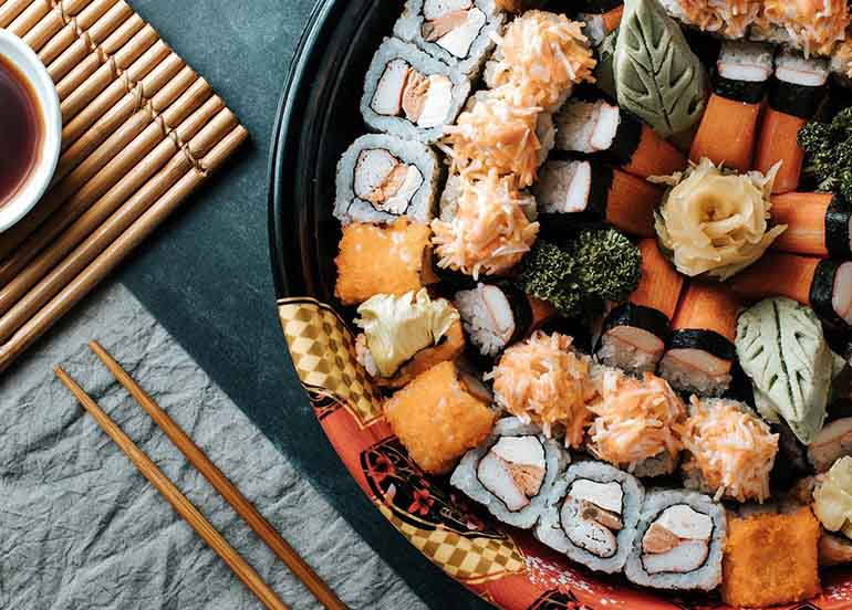 Your Guide To Sushi Delivery Available Now