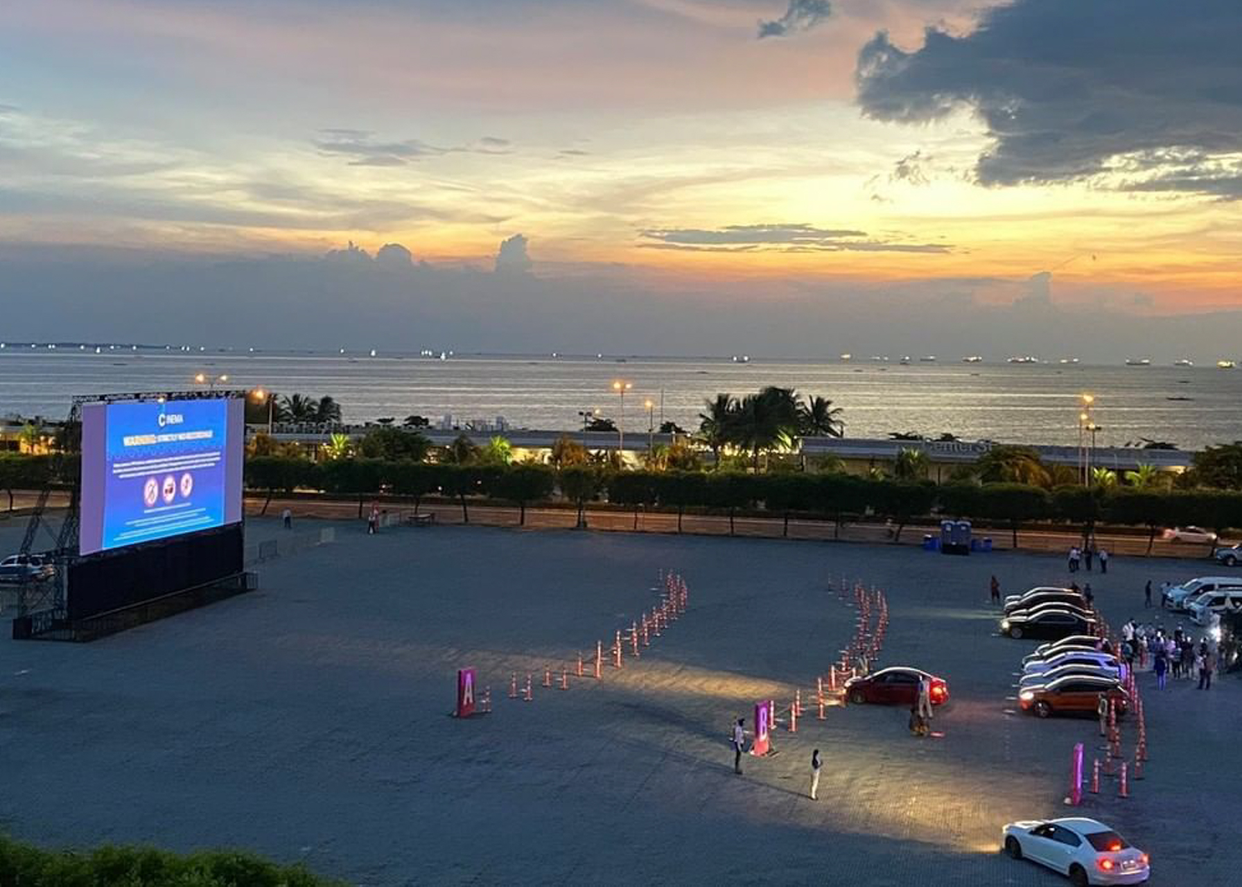 SM Cinema's Second Drive-in Experience is Now at MOA's Concert Grounds