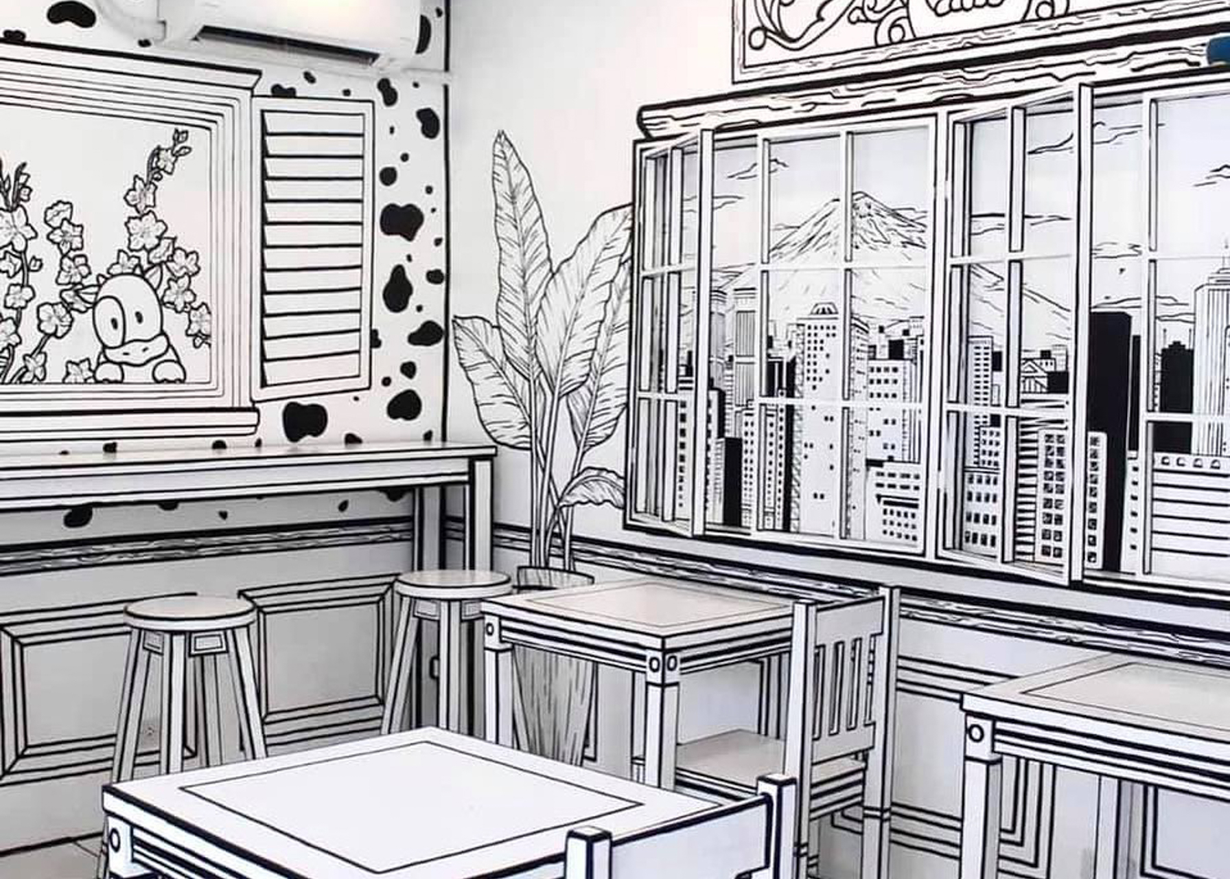 Take a trip to Seoul with this 2D Milk Tea Bar in QC