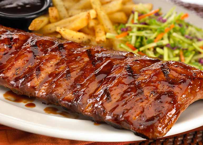 Ribs and Sides from  TGIF Philippines