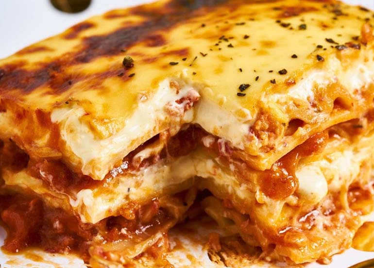 Where to Get Lasagna and Baked Spaghetti