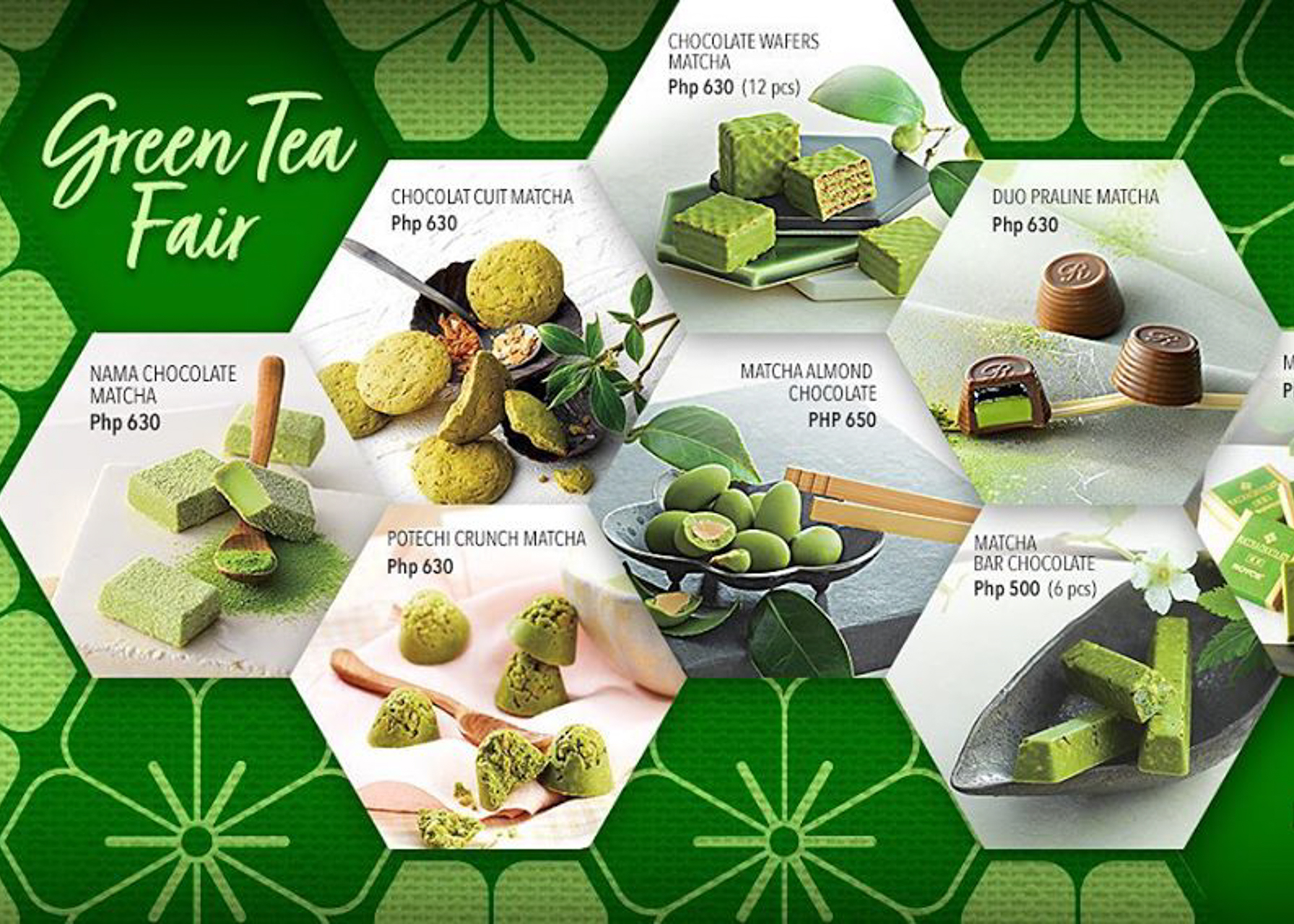 Let's Welcome Back ROYCE' Matcha Chocolate Collection