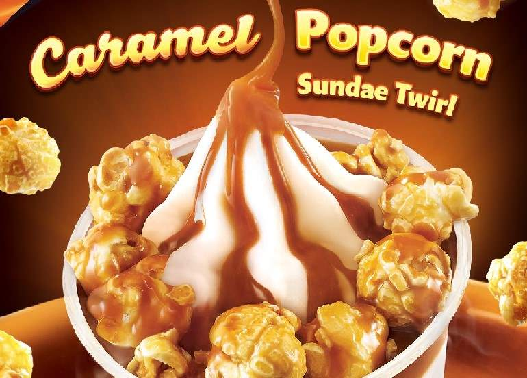 Are You Ready For Jollibee's New Salted Caramel Popcorn Treat?