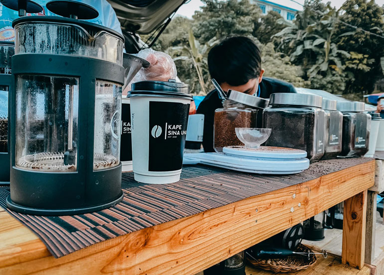 This Local Mobile Coffee Shop Serves a Cup of Joe With A View