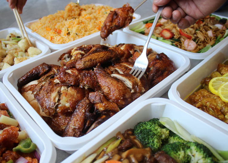 8 Chinese Restaurants that Offer Chinese Food Trays