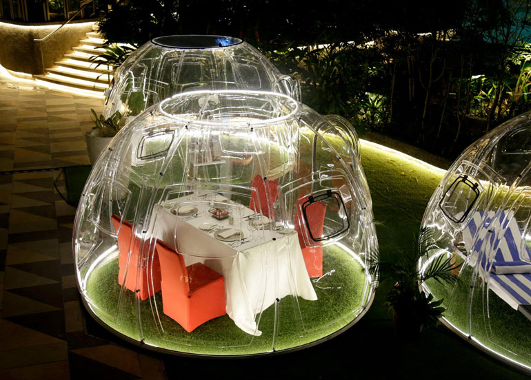 Resort's World Manila Has Vubble Pods & Yes, It's With a V