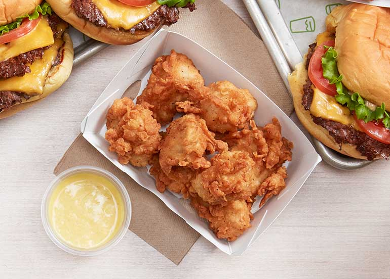 Fall in Love at First Bite with Shake Shack's New Chick'n Bites
